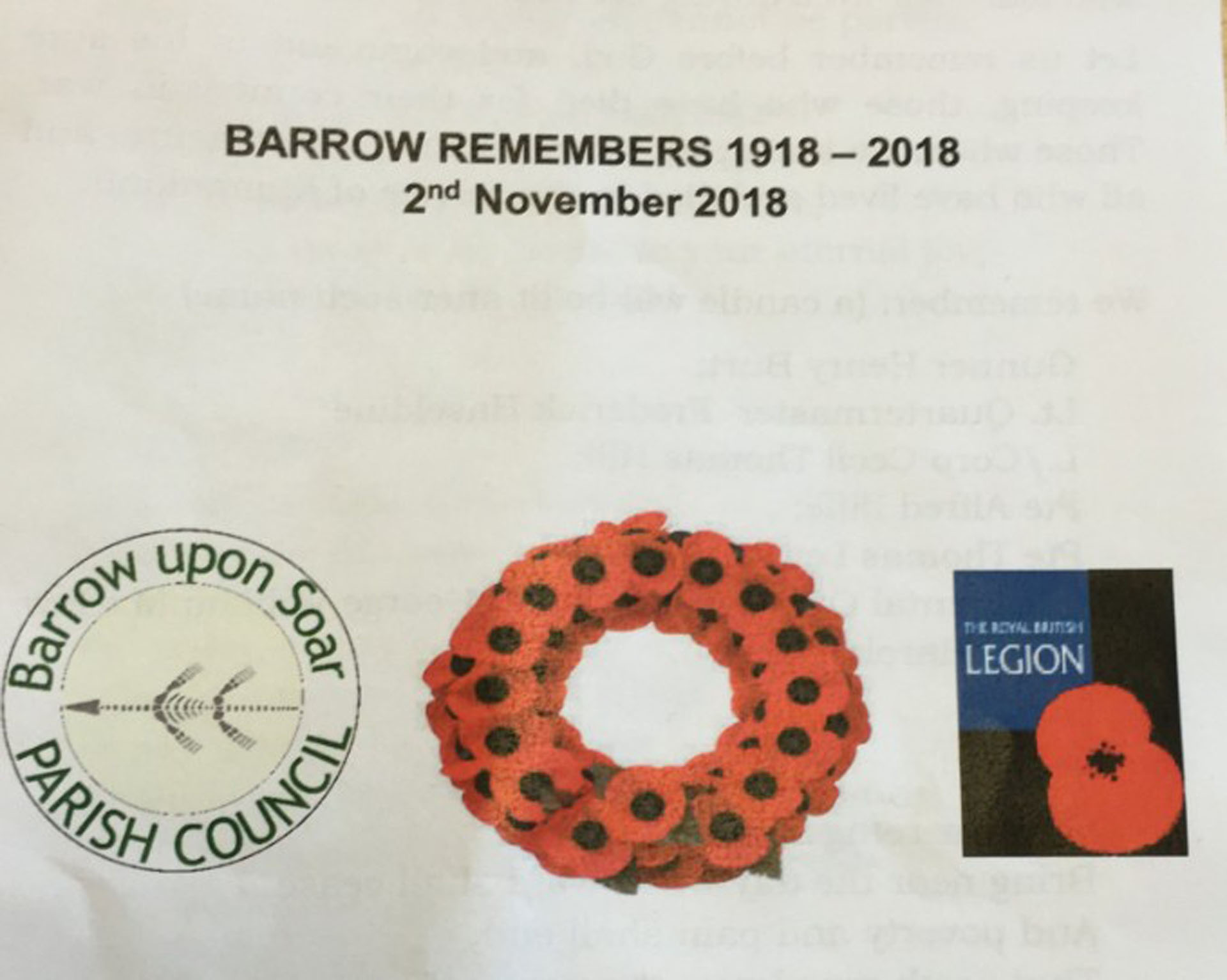 BARROW REMEMBERS