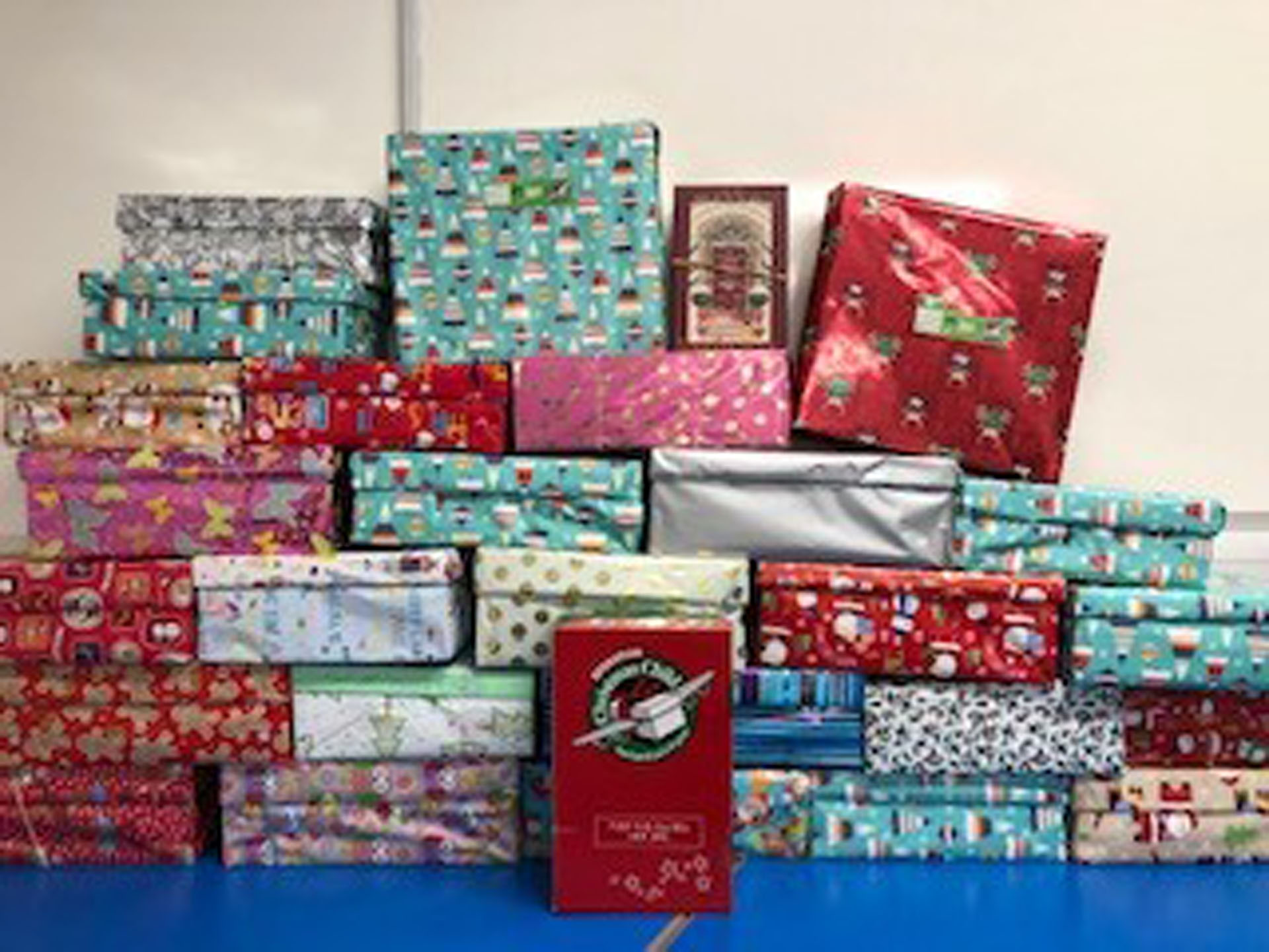 CHRISTMAS SHOE BOX APPEAL