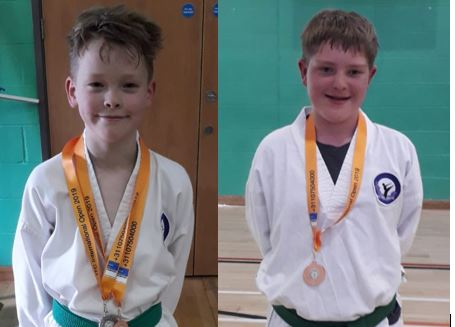 Taekwondo British Medal Holders!